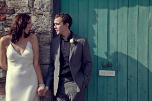 Durhamstown Castle wedding couple