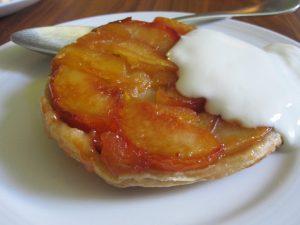 Durhamstown wedding castle food apricot tarte